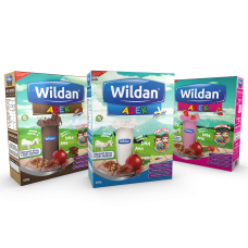 Wildan ADEK Vanilla, Chocolate & Strwaberry 550g x 3 boxes