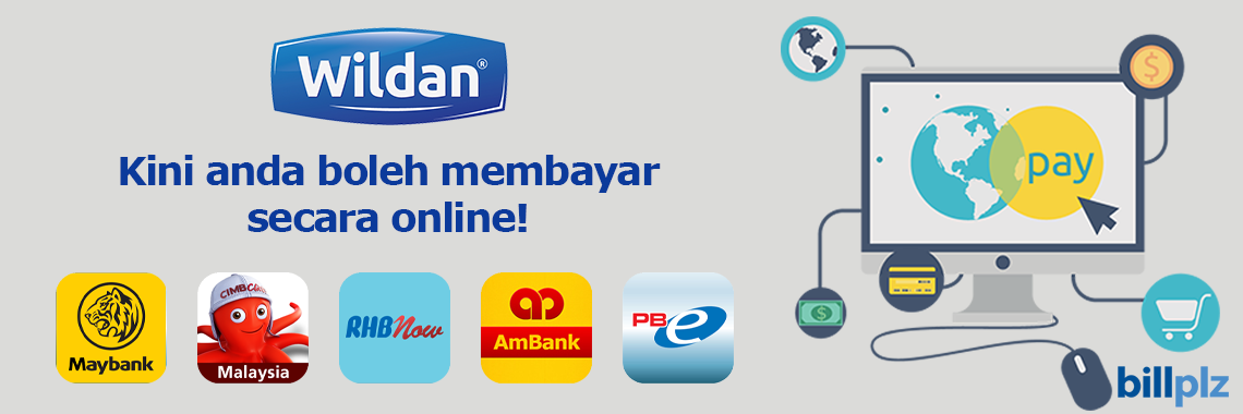Now you can pay via online