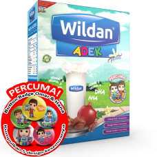 Wildan ADEK Vanilla 550g